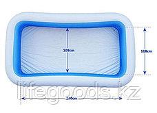 Семейный надувной бассейн прямоугольный 305х183х56см, Intex 58484, фото 2