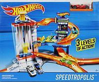 Хотвилс Трек «Город скорости» Hot Wheels Speedtropolis, фото 1