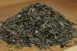 """Чай зеленый с добавками """"Лесная земляника"""" Германия, 500 гр."""