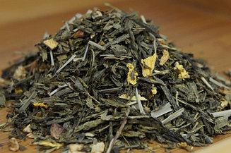 """Чай зеленый с добавками """"Имбирь Лимон"""" Германия, 500 гр."""