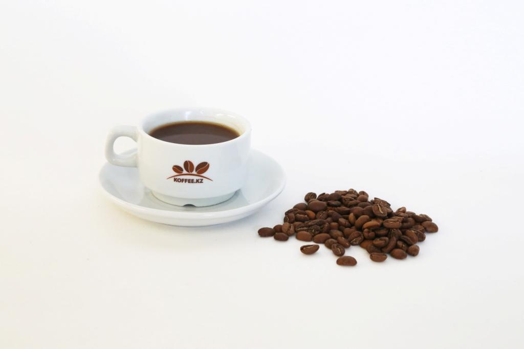 Кофейная пара с круглым блюдцем «Collage» 100мл