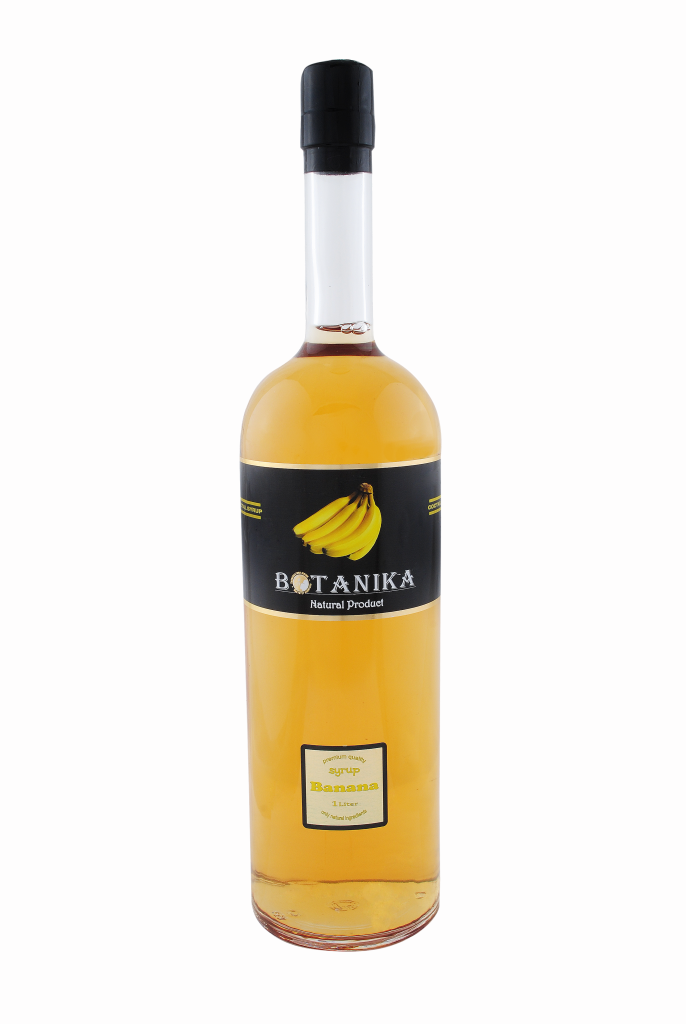 Сироп Банан желтый 1000 мл BOTANIKA