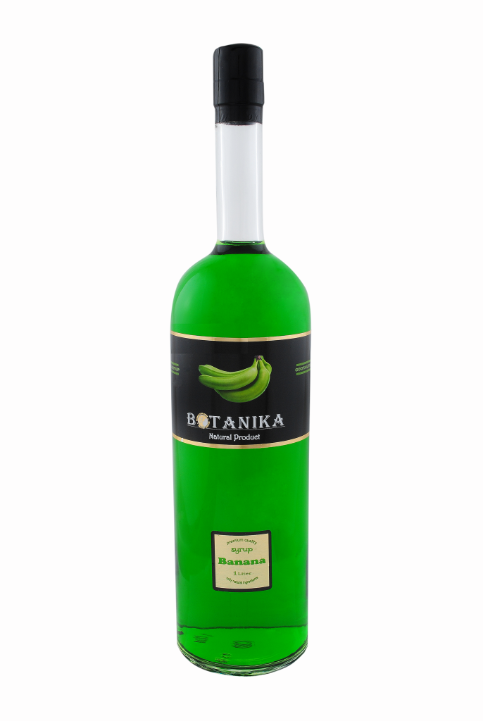 Сироп Банан зеленый 1000 мл BOTANIKA