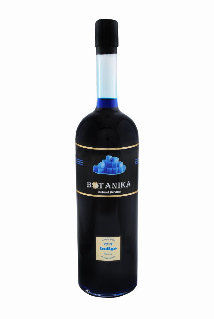 Сироп Индиго (синий сироп) 1000 мл BOTANIKA