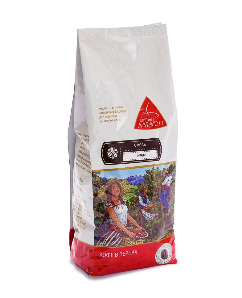 """Кофе в зернах """"Амадо"""" Арабика 100%, 200гр"""