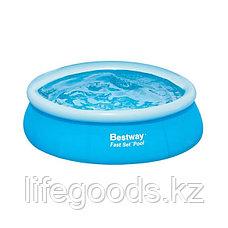Надувной бассейн круглый 305x76 см, Bestway 57266, фото 3