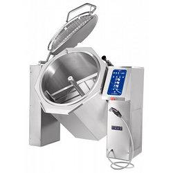 Котел пищеварочный опрокидывающийся КПЭМ-160-ОМ2 с миксером