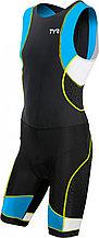TYR мужской стартовый костюм Men's Competitor Trisuit with Back Zipper