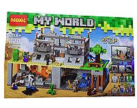 """Детский конструктор """"My World"""" 818 деталей"""