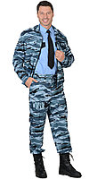 "Костюм ""ФРЕГАТ"" для охранника: куртка, брюки КМФ серый вихрь"