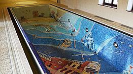 Отделка бассейна плиткой
