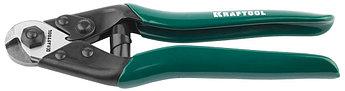 """(23335-19) Тросорез-кусачки KRAFTOOL """"EXPERT"""" универсальный, кабель до 5мм, длина 190мм"""