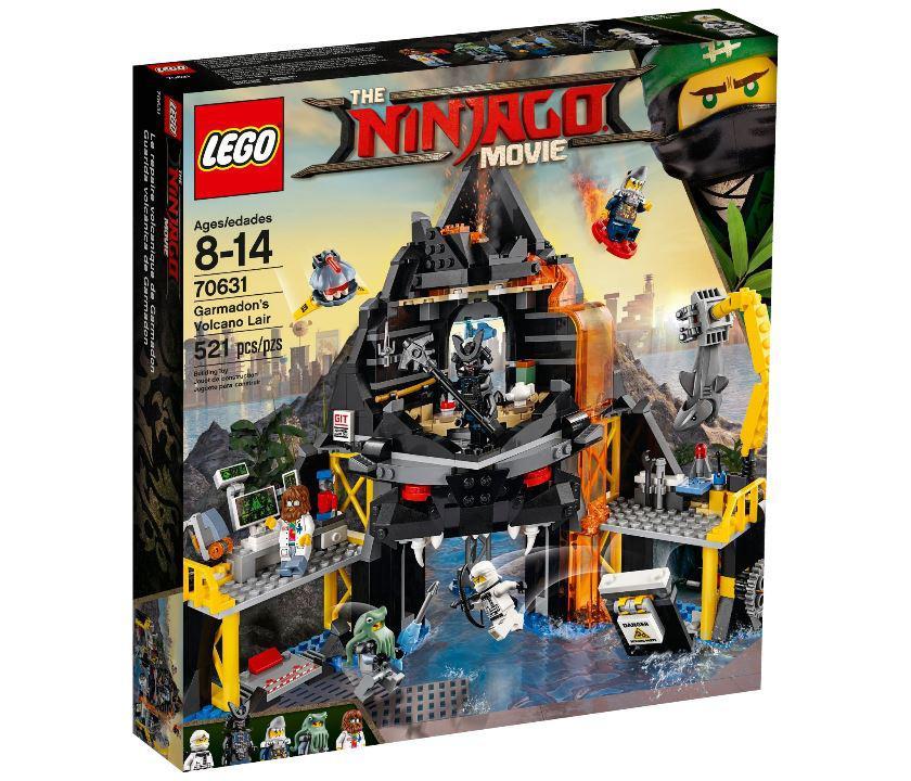 Купить 70631 Lego Ninjago Логово Гармадона в жерле Вулкана ...