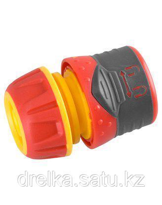 Соединитель GRINDA Premium с запирающим механизмом, пластмассовый с TPR, 1/2, 8-426427