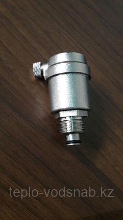 """Сбросник воздуха автоматический 1/2"""" в комплекте с запорным клапаном, фото 2"""