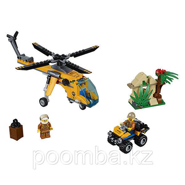 """Конструктор""""Грузовой вертолёт исследователей джунглей"""" - фото 2"""