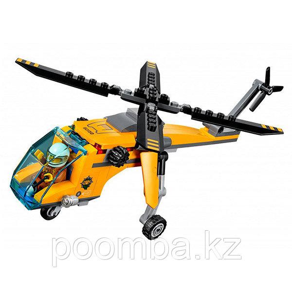"""Конструктор""""Грузовой вертолёт исследователей джунглей"""" - фото 5"""