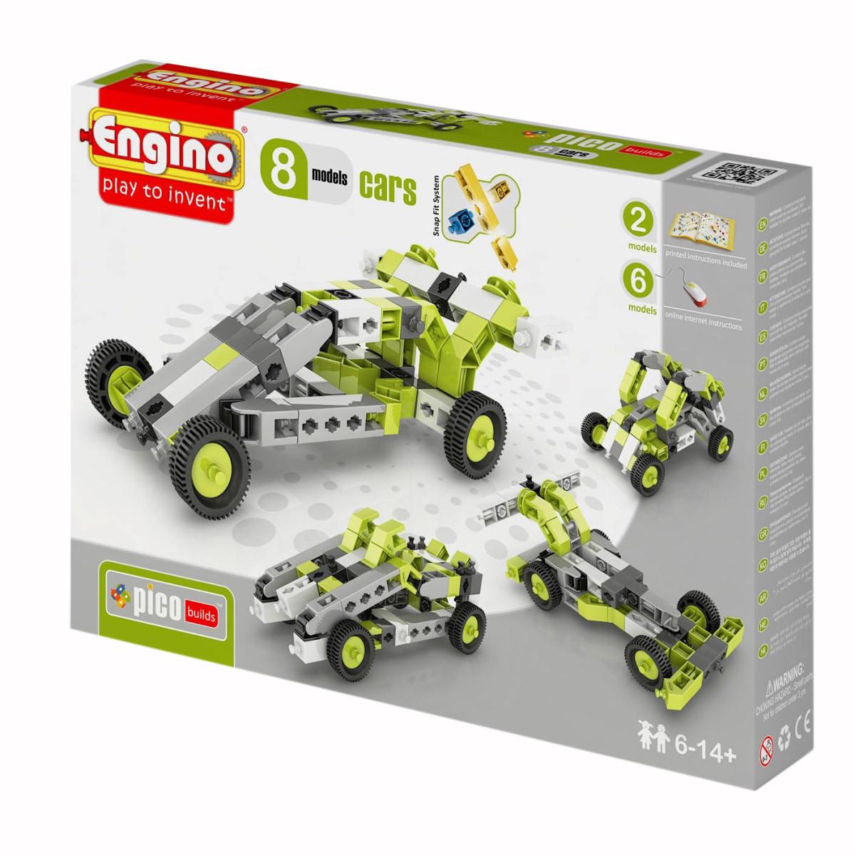 """Engino конструктор Inventor """"Автомобили 8 в 1"""" 69 деталей, Энджино"""