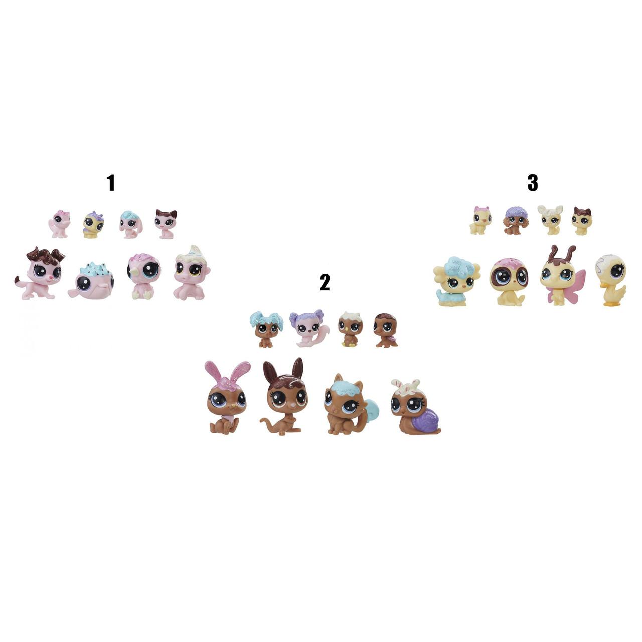 """Hasbro Littlest Pet Shop Игровой набор из 8 фигурок """"Зефирные петы"""", Литл Пет Шоп"""