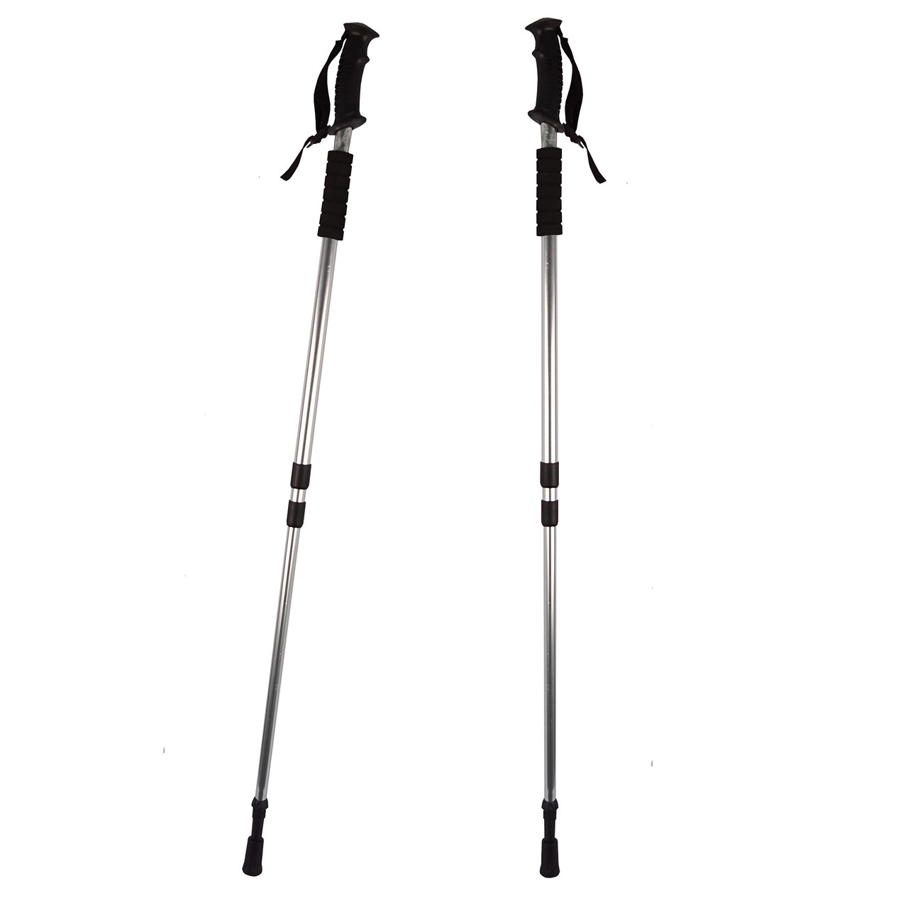 Палки телескопические для скандинавской ходьбы 2 шт.