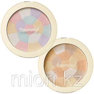Минеральный мульти-хайлайтер The Saem Saemmul Luminous Multi Highlighter 02 Gold Beige