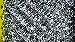 Сетка плетеная нержавеющая одинарная с квадратными ячейками (Рабица)