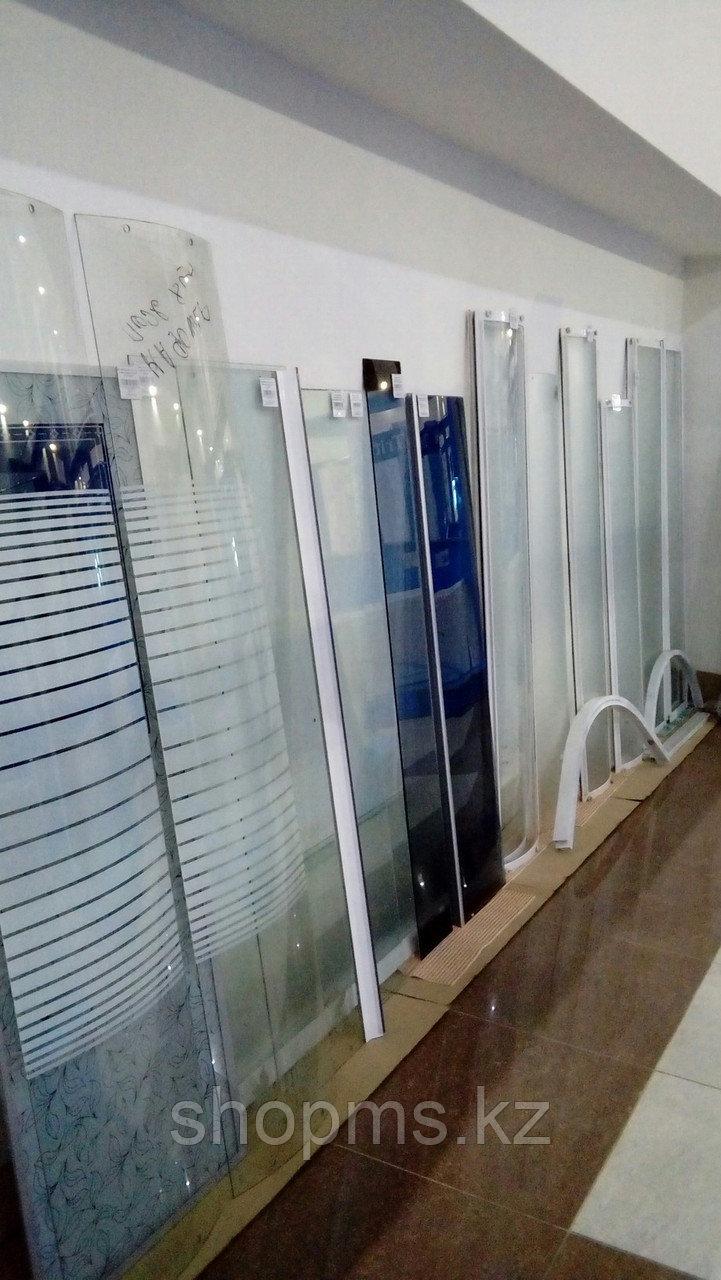 Душевая стенка передняя (стекло мат.) В-164 / Ш-39