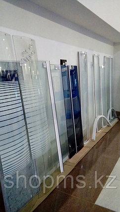 Душевая стенка передняя (стекло мат.) В-164 / Ш-39, фото 2