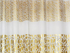 Шторка для ванной комнаты  180 х 180 (РEVA) золото