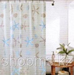 Шторка для ванной комнаты  180 х 180 (РEVA) кактусы