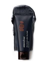 Черная маска Innisfree Jeju Volcanic Color Clay Mask Black,70мл