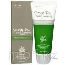 Пенка для умывания 3W Clinic Green Tea Foam Cleansing,100мл