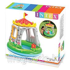"""Детский надувной бассейн """"Королевский замок"""" с навесом, Intex 57122, фото 3"""