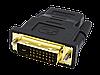 Переходник DVI-D 24+1(М) - HDMI (F)