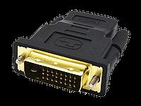 Переходник DVI-D 24+1(М) - HDMI (F) , фото 1