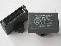 CBB61, 1.5 mF 450 V, 5%, Конденсатор пусковой