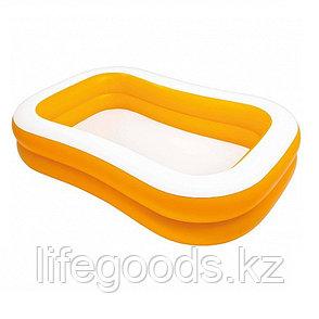 """Детский надувной бассейн """"Мандарин"""" 229х147х46 см, Intex 57181, фото 2"""