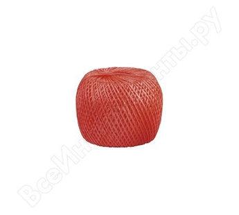 (93996) Шпагат полипропиленовый красный 500 м 800 текс// СИБРТЕХ//Россия