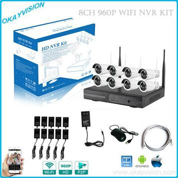 Беспроводной комплект IP видеонаблюдения HD NVR KIT