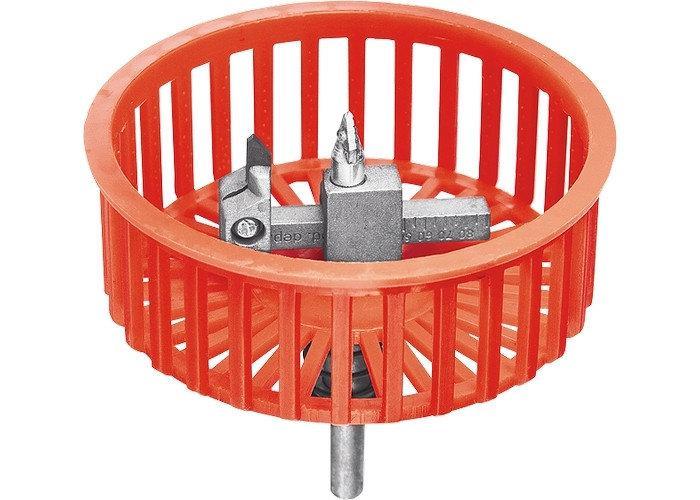 (88240) Сверло по кафелю круговое (балеринка) с защитной решеткой MATRIX