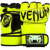 Перчатки MMA (шингарты) Venum Undisputed 2.0 Neo Yellow