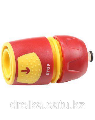 Соединитель GRINDA универсальный с автостопом, из ударопрочной пластмассы, 1/2-3/4, 8-426227_z01, фото 2