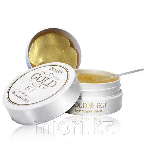 Гидрогелевые патчи с золотом и EGF Pettifee Gold & EGF Hydrogel Eye&Spot Patch(60шт)