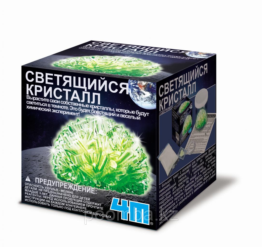 """Набор для опытов """"Светящийся кристалл"""", зеленый"""