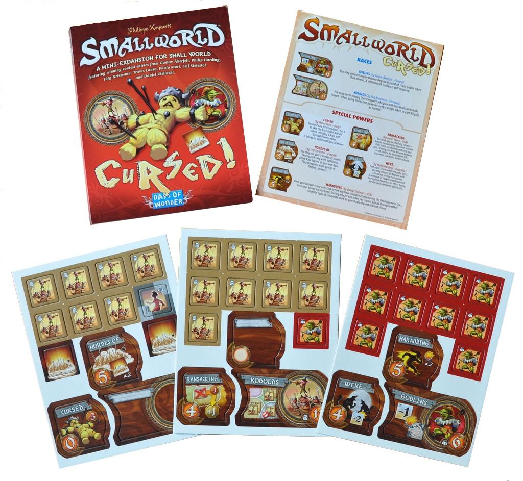 Настольная игра: SmallWorld: Cursed! (Маленький Мир: Проклятые!)