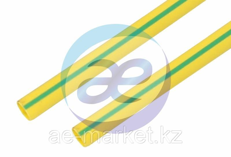 35. 0 / 17. 5 мм 1м термоусадка желто-зеленая REXANT