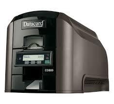 Принтер печати на пластиковых картах Datacard CD800 c модулем двусторонней печати