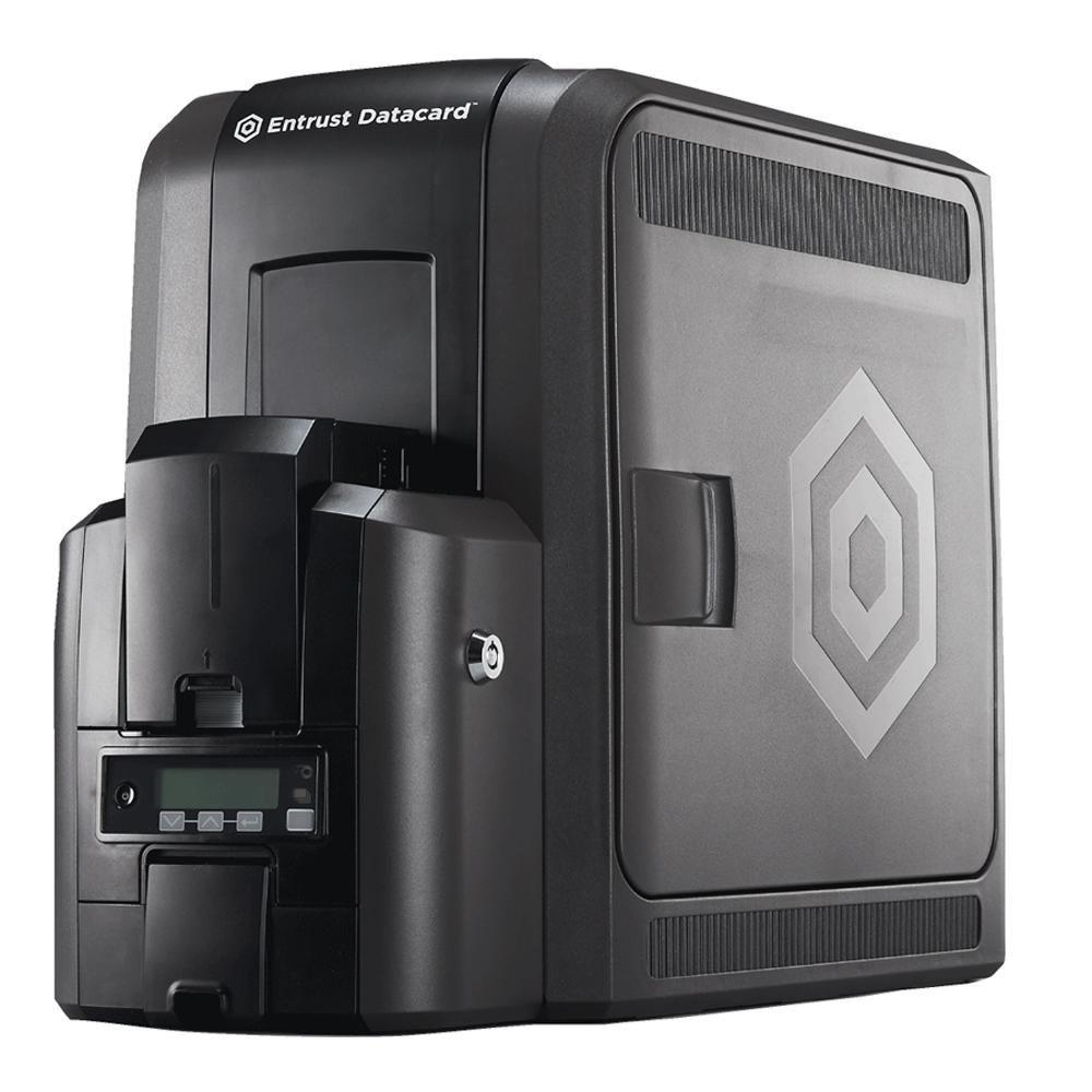 Ретрансферный принетр печати на пластиковых картах Datacard CR805