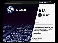 HP 81A лазерный картридж HP LaserJet
