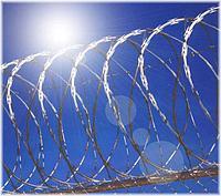 Спиральный барьер безопасности...